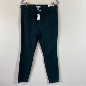 Loft Made and Loved Legging Jeans Dark Green
